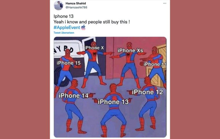 iPhone 13: So reagiert das Internet auf das neue Apple-Smartphone