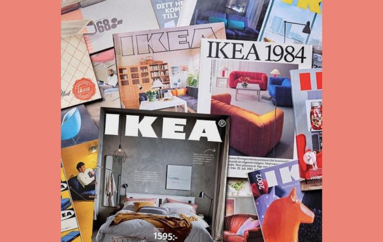 Ikea eröffnet digitales Museum für Reise durch ikonische Retro-Kataloge
