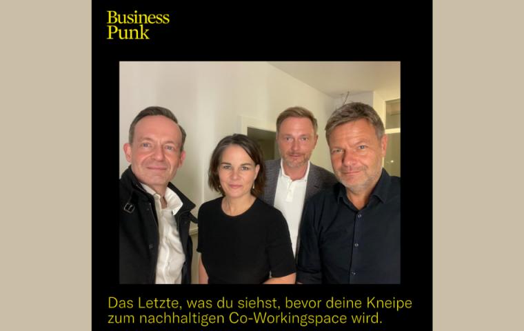 Instagram-Selfie von FDP und Grünen liefert grandiose Meme-Vorlage