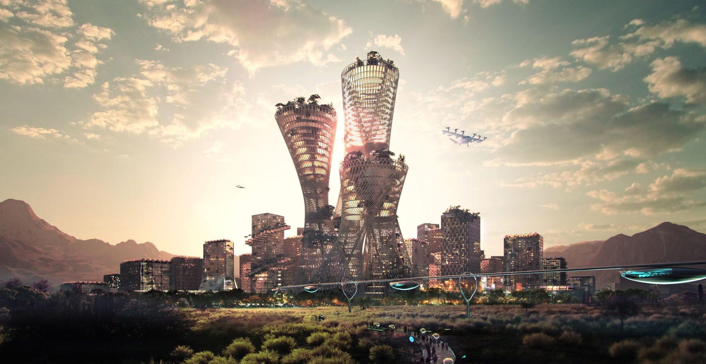 Diese nachhaltige Super-City soll in der US-amerikanischen Wüste entstehen