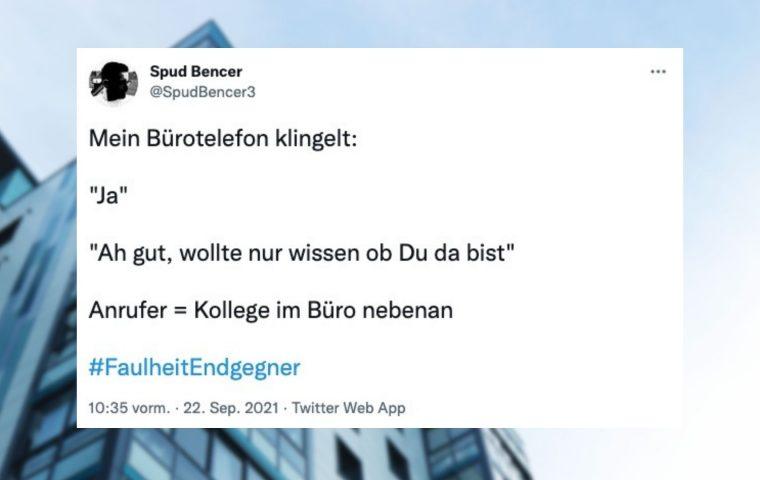 Neun Tweets, um den Büroalltag mit Humor zu überstehen