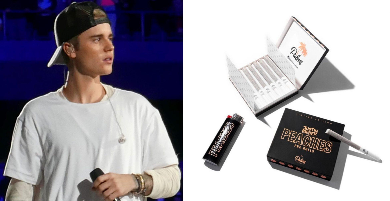 """""""Peaches Pre-Rolls"""": Justin Bieber verkauft jetzt Weed aus Kalifornien"""