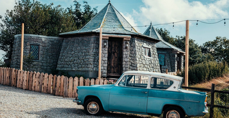 Leben wie bei Harry Potter: Ihr könnt in Hagrids Hütte übernachten