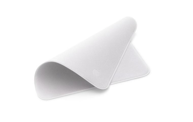 Apple verkauft ein weißes Poliertuch für 25 Euro